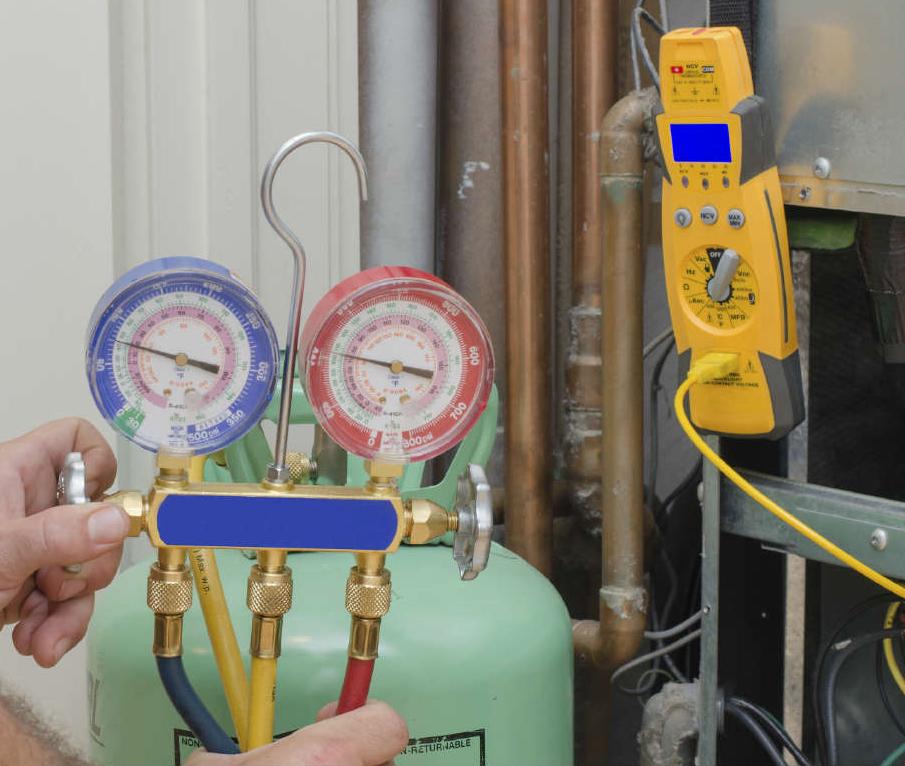 Air Conditioner Refrigerant  Leak Repair